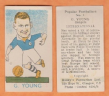 Scotland George Young Glasgow Rangers